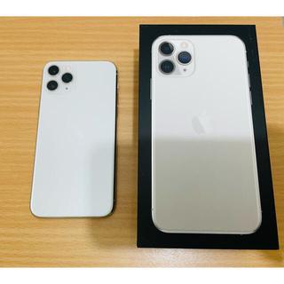 アイフォーン(iPhone)のiPhone11Pro 256GBシルバー+Smartbatterycase(スマートフォン本体)