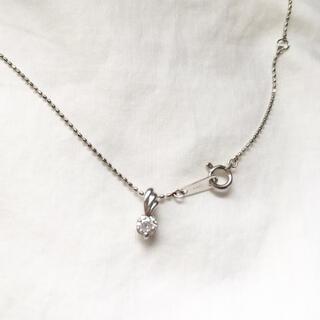 ジュエリーツツミ(JEWELRY TSUTSUMI)のプラチナダイヤネックレス(ネックレス)