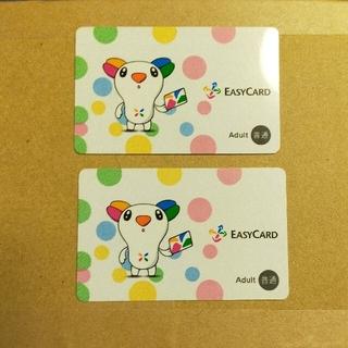 悠遊カード2枚とサニーヒルズパイナップルケーキバッグ(旅行用品)