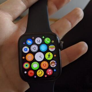 アップル(Apple)のapple watch SE 44mm(腕時計(デジタル))