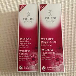 ヴェレダ(WELEDA)の新品 ヴェレダ ワイルドローズ 化粧水 乳液(化粧水/ローション)