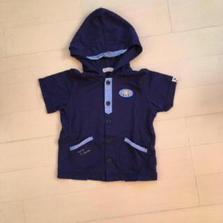 ミキハウス(mikihouse)のミキハウス 半袖パーカー 110 プッチー(Tシャツ/カットソー)