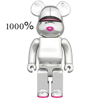 MEDICOM TOY - BE@RBRICK SORAYAMA 2G SILVER 1000%