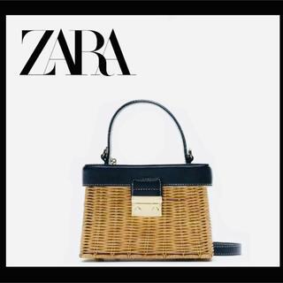ZARA - ★ 【バッグ かごバッグ 】ミニバッグ ラタン 新作 ZARA H&M