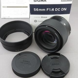 SIGMA - シグマ ソニーE用56mm F1.4DC DN