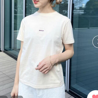 ビームスボーイ(BEAMS BOY)のBEAMS BOY / エンブロイダリー クルー Tシャツ(Tシャツ(半袖/袖なし))