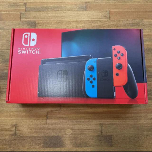 Nintendo Switch(ニンテンドースイッチ)の任天堂スイッチ 新品未使用 エンタメ/ホビーのゲームソフト/ゲーム機本体(家庭用ゲーム機本体)の商品写真