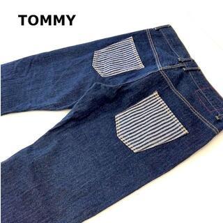 TOMMY - TOMMY ストレートデニムパンツXL約90cm