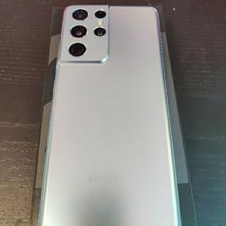 Samsung Galaxy S21 Ultra シルバー 香港版