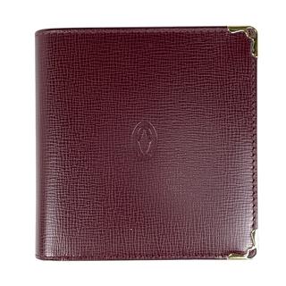 カルティエ(Cartier)のカルティエ マストライン 二つ折り 財布 レディース 【中古】(財布)
