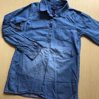 ギャップキッズ(GAP Kids)の女の子 デニムシャツ 140(Tシャツ/カットソー)