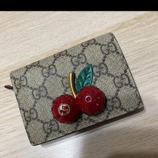 Gucci - GUCCI さくらんぼ チェリー 財布