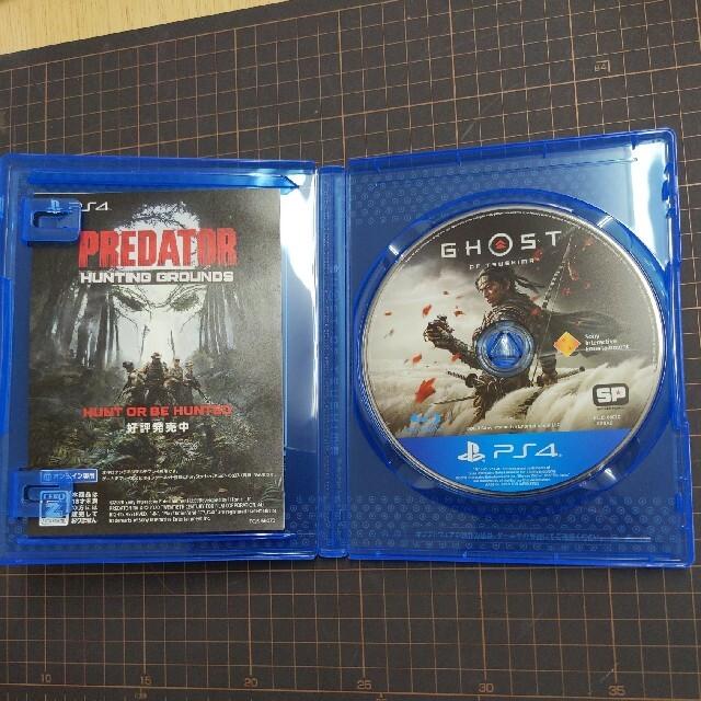PlayStation4(プレイステーション4)のGhost of Tsushima  エンタメ/ホビーのゲームソフト/ゲーム機本体(家庭用ゲームソフト)の商品写真