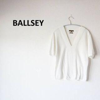 Ballsey - ❤週末セール開催します❤ボールジィ トップス Vネック 白  SIZE M