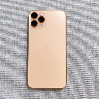 iPhone - 【美品】 iPhone11pro64GBゴールド(simフリー&残債無し)