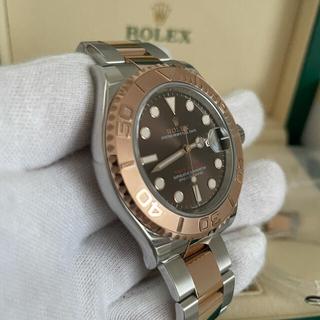 ROLEX - 【超美品】Rolexロレックス ヨットマスター126621 コンビ チョコ