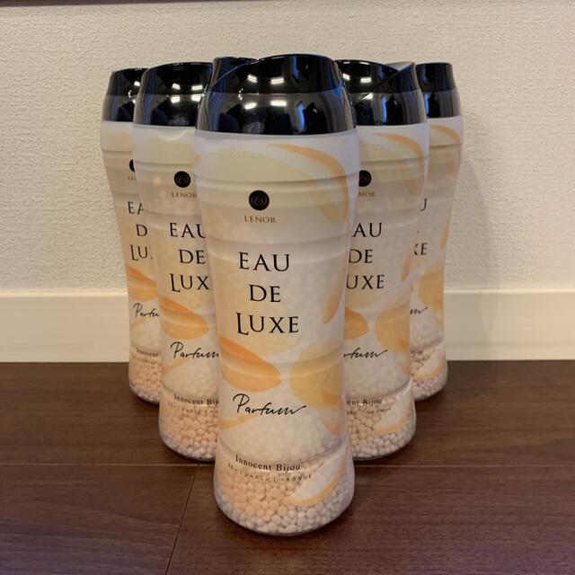 レノアオードリュクスアロマジュエル 520mlX6本 イノセントビジュの香り インテリア/住まい/日用品の日用品/生活雑貨/旅行(洗剤/柔軟剤)の商品写真