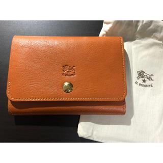 IL BISONTE - 【新品未使用】イルビゾンテ 二つ折り 財布 ヤキヌメ キャラメル