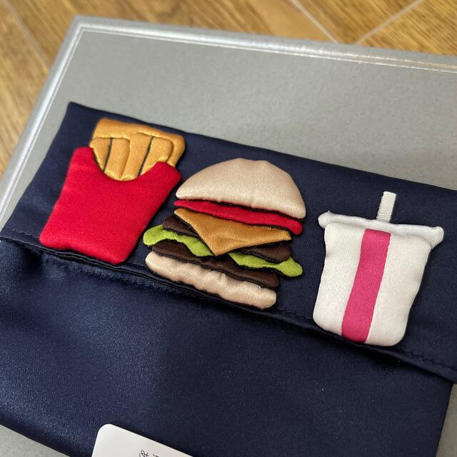 Drawer(ドゥロワー)のLUDLOW ハンバーガー ティッシュ ケース ラドロー レディースのファッション小物(その他)の商品写真