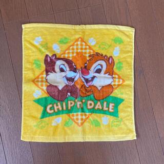 チップアンドデール(チップ&デール)の☆CHIP'n'DALE☆チップとデール☆ハンドタオル☆(タオル)