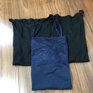 半袖インナーシャツ&キャミソール(キャミソール)