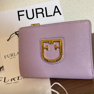 Furla - フルラ FURLA 財布 二つ折り財布 レディース パープル 紫 折り財布