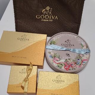 GODIVA ゴディバ アソート バッグ 保冷バッグ 付き (菓子/デザート)