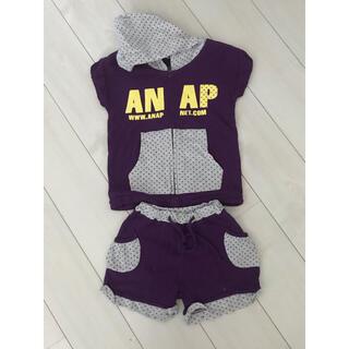アナップキッズ(ANAP Kids)のANAP kids 110 半袖上下セット(Tシャツ/カットソー)
