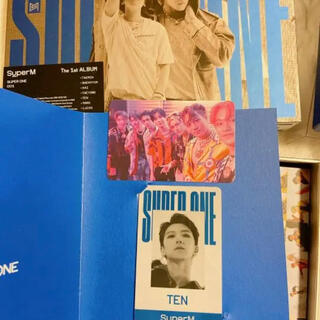 superm super one CD&テンカード、集合トレカ付き