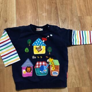 ミキハウス(mikihouse)のミキハウス 長袖 80cm(Tシャツ)