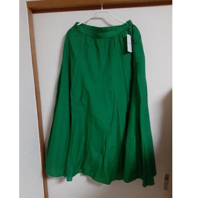 FRAMeWORK(フレームワーク)の【新品】フレームワーク★フレアロングスカート レディースのスカート(ロングスカート)の商品写真