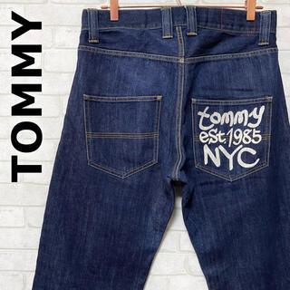 TOMMY - TOMMY トミー ヒルフィガー NYC 濃紺 デニムパンツ 日本製