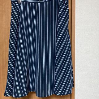 インデックス(INDEX)のフレアースカート(ひざ丈スカート)