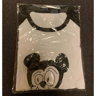 ディズニー(Disney)の未開封!二宮和也ミッキーラグランTシャツ(アイドルグッズ)