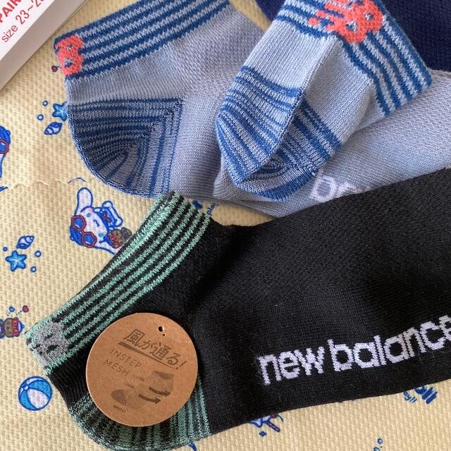 New Balance(ニューバランス)のnewbalanceレディースソックス レディースのレッグウェア(ソックス)の商品写真