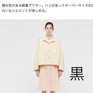 UNIQLO - UNIQLO +J  オーバーサイズ シャツジャケット