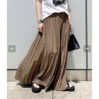 ドゥーズィエムクラス(DEUXIEME CLASSE)のAP STUDIO サテンギャザースカート (ロングスカート)
