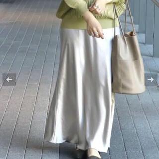 Simplicite - シンプリシテェ SIMPLICITE サテンマーメイドスカート