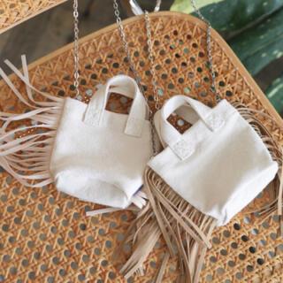 シールームリン(SeaRoomlynn)のsearoomlynn 新品 フリンジミニチェーンバッグ (ショルダーバッグ)
