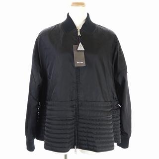 モンクレール(MONCLER)のモンクレール ビームス ペプラムジャケット ブルゾン 国内正規 1 黒(ブルゾン)