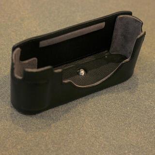 ライカ(LEICA)のLeica (ライカ) M10用 レザープロテクター ブラック(箱、説明書付)(ミラーレス一眼)