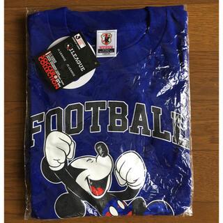 ミッキーマウス(ミッキーマウス)のJリーグ ディズニー ミッキーマウス コラボTシャツ サイズL(Tシャツ/カットソー(半袖/袖なし))