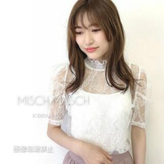 MISCH MASCH - 新品WEB限定*ミッシュマッシュ*2020繊細レースブラウス シンプルなホワイト