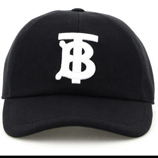 バーバリー(BURBERRY)の新品未使用 正規品 バーバリー Burberry ロゴ キャップ 帽子 ブラック(キャップ)