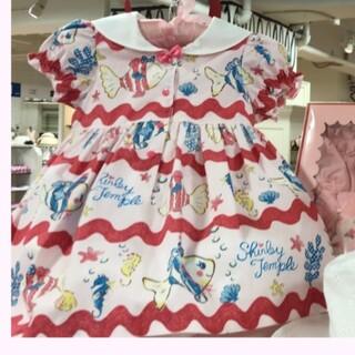 Shirley Temple - さかな セーラー ピンク色 ワンピース シャーリーテンプル