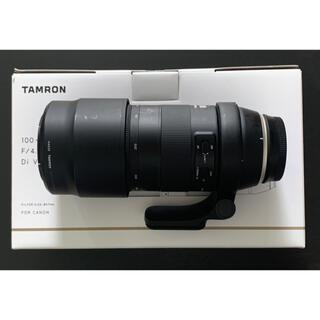 TAMRON - TAMRON 100-400mm F/4.5-6.3 EFマウント用