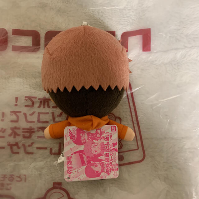 BANDAI(バンダイ)のナムコ限定 呪術廻戦 ともぬい  虎杖悠仁  エンタメ/ホビーのおもちゃ/ぬいぐるみ(キャラクターグッズ)の商品写真