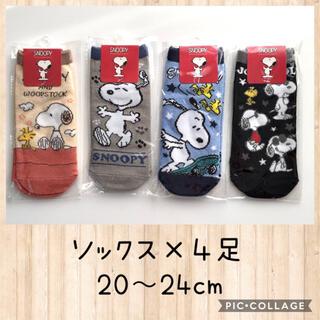 SNOOPY - スヌーピー  ★  約20cm〜24cm   靴下 ソックス