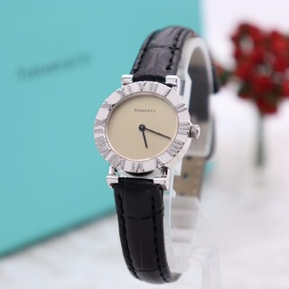 Tiffany & Co. - 正規品【新品電池】Tiffany& Co./アトラス L0640 ティファニー