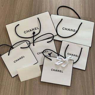 シャネル(CHANEL)のCHANEL シャネル ショップ袋 ショッパー メッセージカード(ショップ袋)